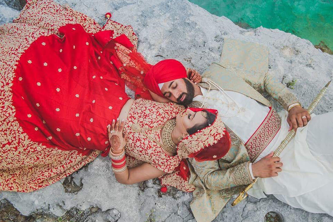 All-inclusive Indian destination wedding picture