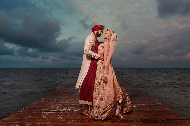 Indian destination wedding testimonial picture