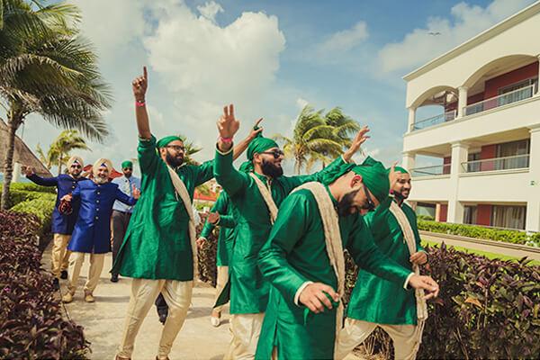 destination Indian wedding Caribbean Dominican Republic photo
