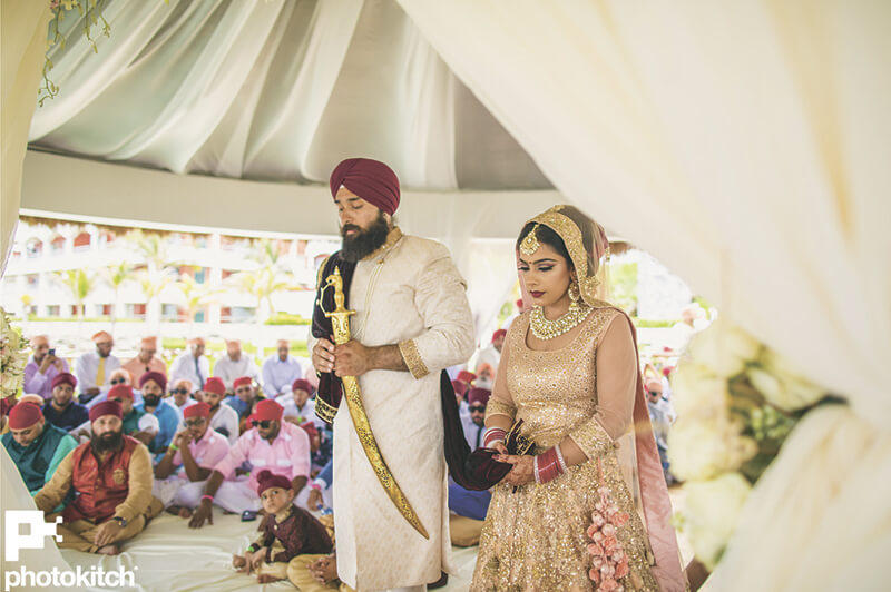 indian destination wedding ceremony photo